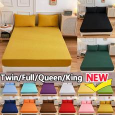 elasticfittedsheet, fittedsheetkingsize, mattresscoversset, Bed Sheets