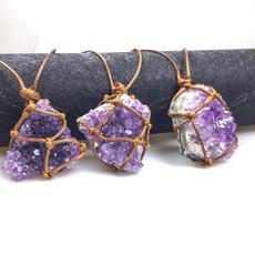 wovennecklace, purpleamethyst, Fashion, Jewelry