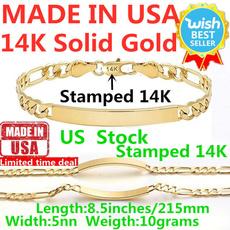 yellow gold, Chain bracelet, Chain, Jewelry