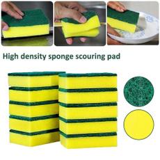 Cleaner, Bathroom, dishwashingsponge, cleaningsponge