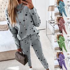 Fashion, Star, pants, Long Sleeve