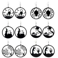 Earring, Dangle Earring, blackcatdangleearring, Gifts