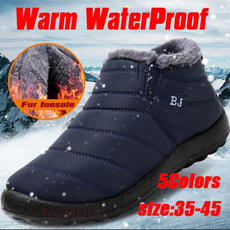 cottonshoe, menswomensboot, ankle shoes., Waterproof