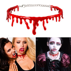 fakebloodchoker, Chain Necklace, Cosplay, Necklace