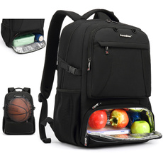 Laptop Backpack, travel backpack, Basketball, Sports & Outdoors