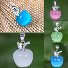 Sterling, Charm Jewelry, Silver Jewelry, Apple
