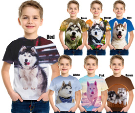 short sleeves, cute, Shorts, puppy