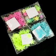 Star, Home Decor, Stickers, fluorescentstar