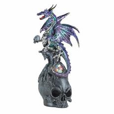 Figurine, skull, dragon