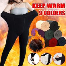 Leggings, Warm Leggings, Fashion, Elastic