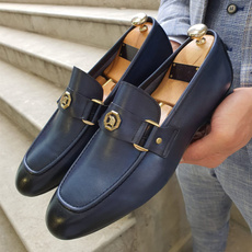 formalshoe, leather shoes, genuine leather, Metal