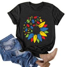 Summer, summer t-shirts, Fun, petal