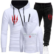 hooded, Winter, pants, Long sleeved