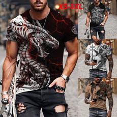 tattoo, Shorts, art, Shirt