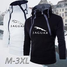 Outdoor, jaguarhoodie, pullover sweater, slim