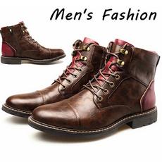 casual shoes, Plus Size, Lace, Combat