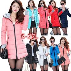 Long Coat, womenquiltedcoat, Coat, padded