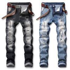 Blues, men's jeans, trousers, blackjean