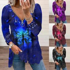 blouse, Moda masculina, Floral print, Necks