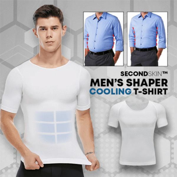 waistslimshapewear, Fashion, compressionundershirt, slimbellyundershirt