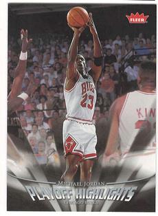 200708basketballcard, Chicago, Chicago Bulls, michaeljordanplayoffhighlight