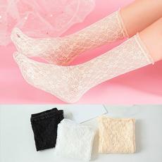 Hosiery & Socks, jacquard, Lace, plain