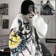 Goth, Fashion, Long Sleeve, Women Hoodie
