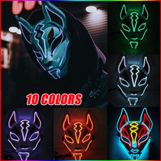 Cosplay, Carnival, glowmask, lights