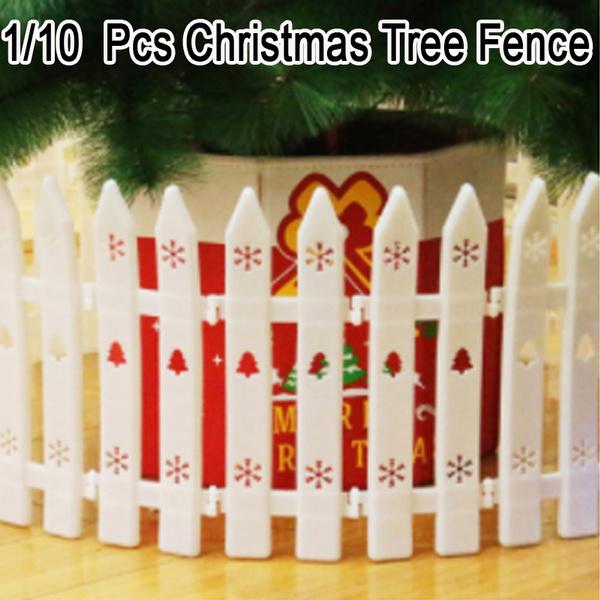Christmas, fence, Home & Living, Tree