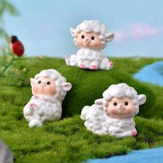 Bonsai, Sheep, Decor, Garden