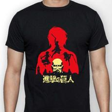 shingekinokyojin, Cotton Shirt, erenjaegertshirt, menwomentshirt