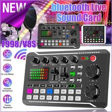 Microphone, livesoundcard, Equipment, soundcardforphone