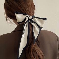 Beautiful, scarf silk, knot, Bow