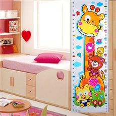 Home & Kitchen, measuringwallsticker, bearwallsticker, Home Decor