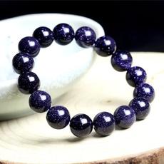 Bracelet, bluesandstonebracelet, Crystal, naturalhealingenergy
