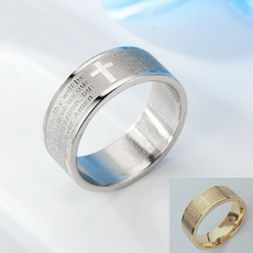 Steel, mensfashionaccessorie, Jewelry, Silver Ring
