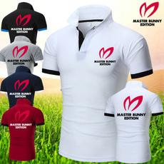 Summer, collar slim, summer t-shirts, Shirt