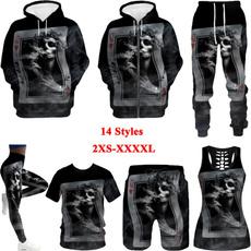 Couple Hoodies, 3D hoodies, Vest, Shorts