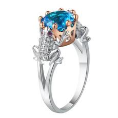 Sterling, cute, Silver Jewelry, DIAMOND