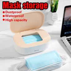 Storage Box, Box, maskstoragesealedbox, Capacity