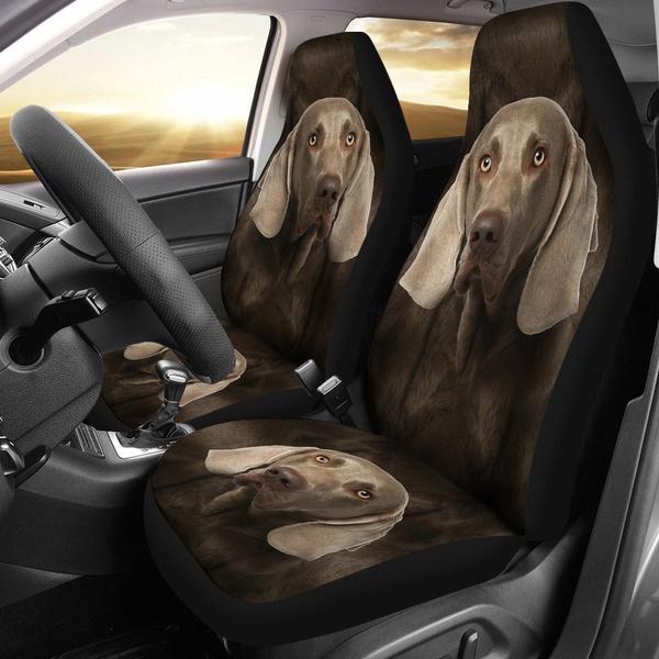 seatcoversforcar, Fashion, weimaranerdogprintcarseatcover, Print