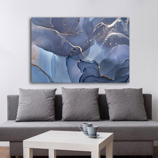 Blues, Home & Kitchen, Wall Art, Home Decor