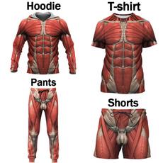 3d sweatshirt men, Funny, Shorts, 3D hoodies