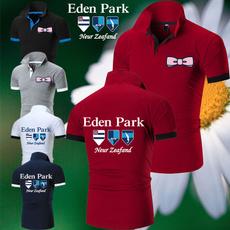 Summer, collar slim, Plus Size, Golf