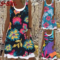 Tank, Summer, Plus Size, vest dress