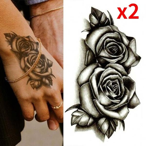tattoo, art, Waterproof, flowertattoosticker