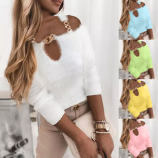 Plus Size, long sleeve sweater, Sleeve, Long Sleeve