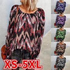 fashion women, Plus Size, folding, Shirt