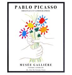 pablopicassoprint, bouquetofpeace, Flowers, art