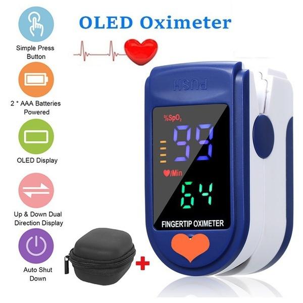 Heart, fingerpulseoximeter, Monitors, selfcheck